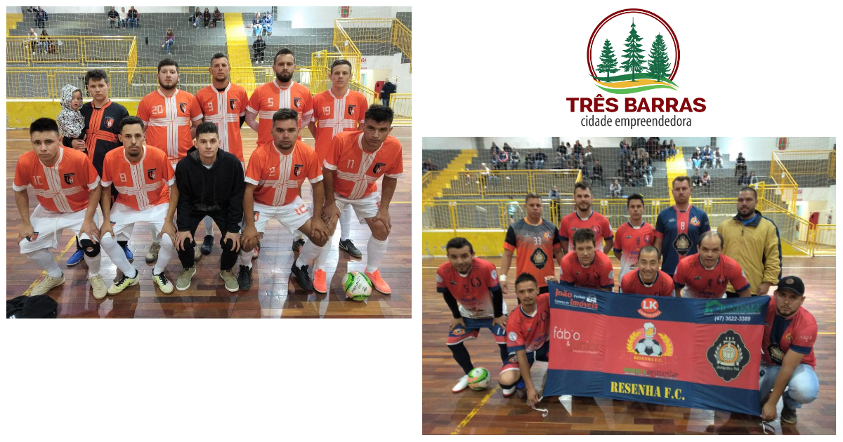 Los Hermanos - I e Resenha FC decidem o Futsal Livre Masculino em Três Barras