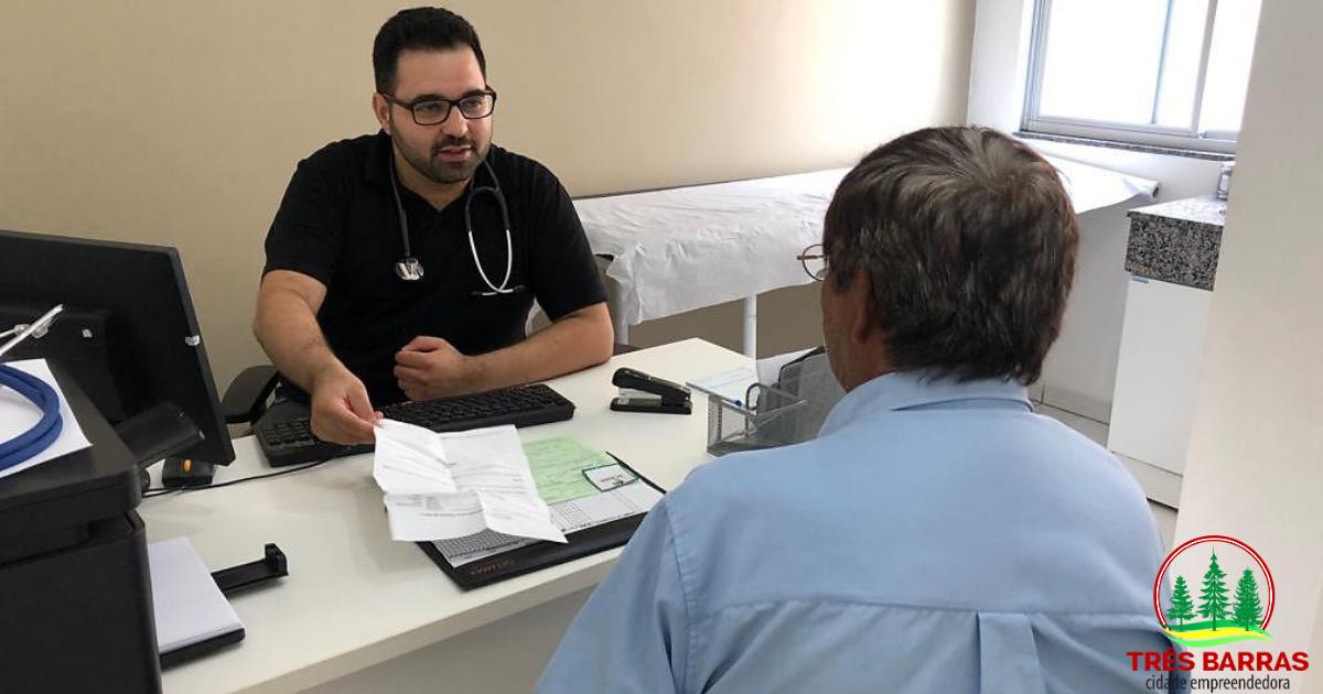 Mais de 27,2 mil consultas médicas foram realizadas nas unidades de saúde de Três Barras em 2018