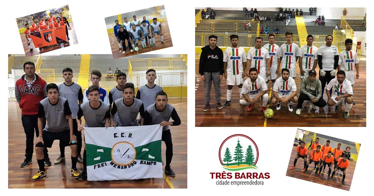 Menandro Futsal e União São João são os destaques da sétima rodada do Futsal Livre Masculino