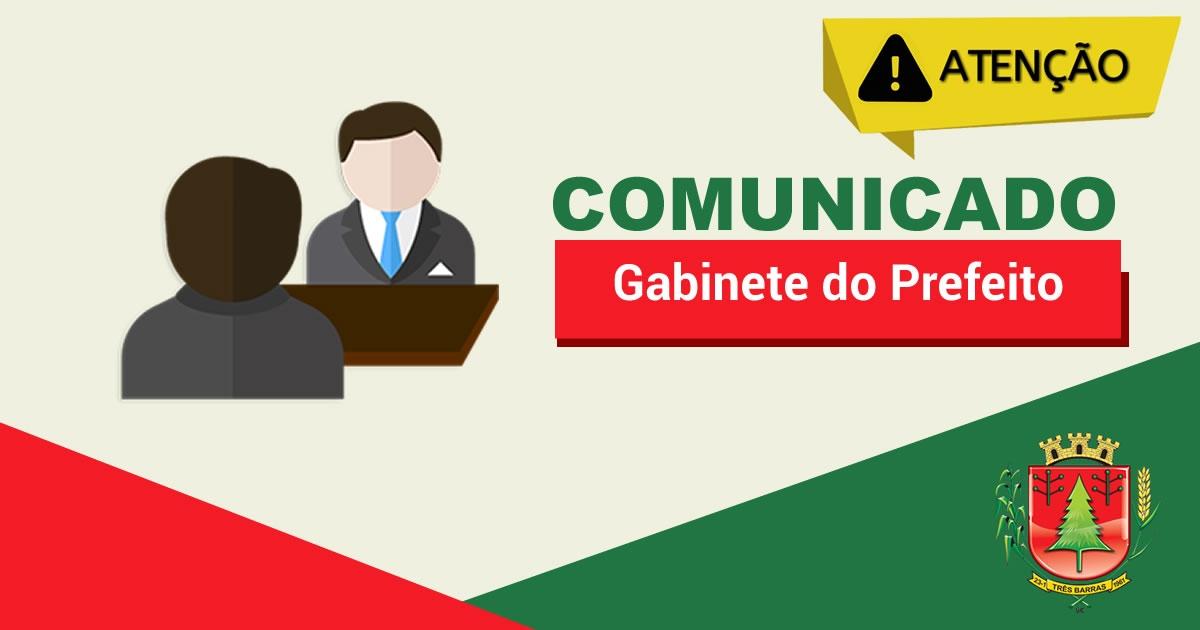 Merenda escolar será distribuída às famílias carentes em Três Barras; Prefeitura anuncia outras medidas