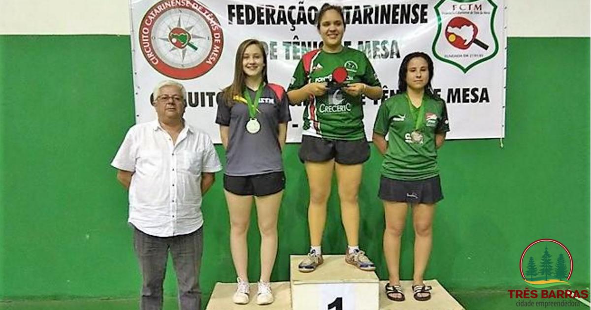 Mesatenista tresbarrense consegue classificação para o Campeonato Brasileiro