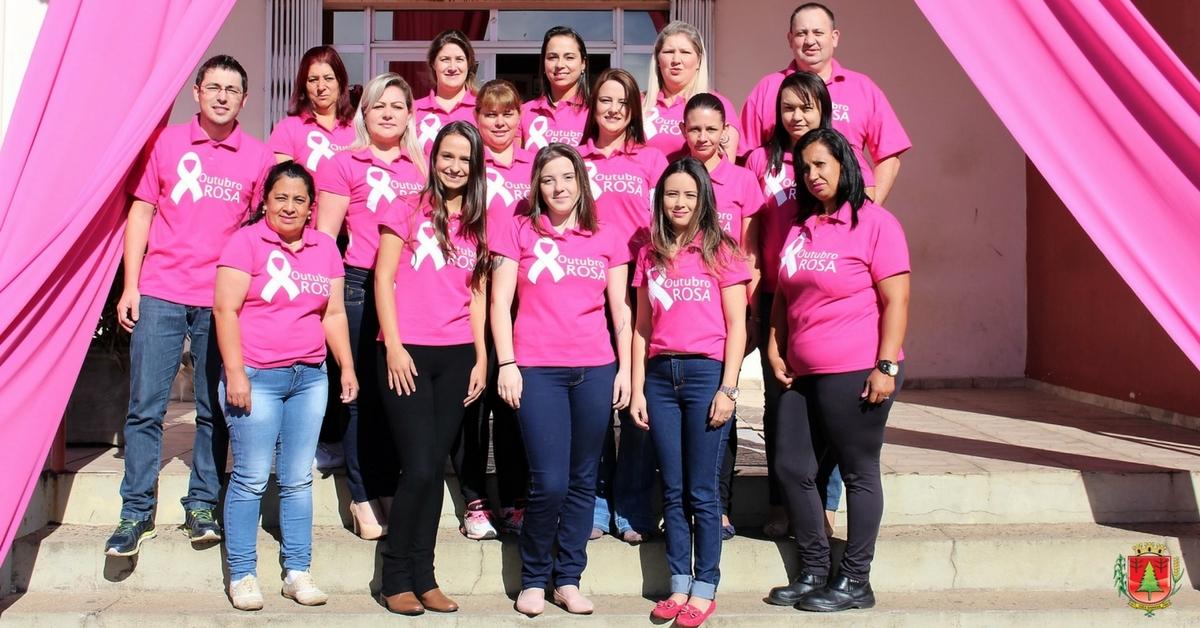 Município adere ao Outubro Rosa com ações voltadas à saúde da mulher
