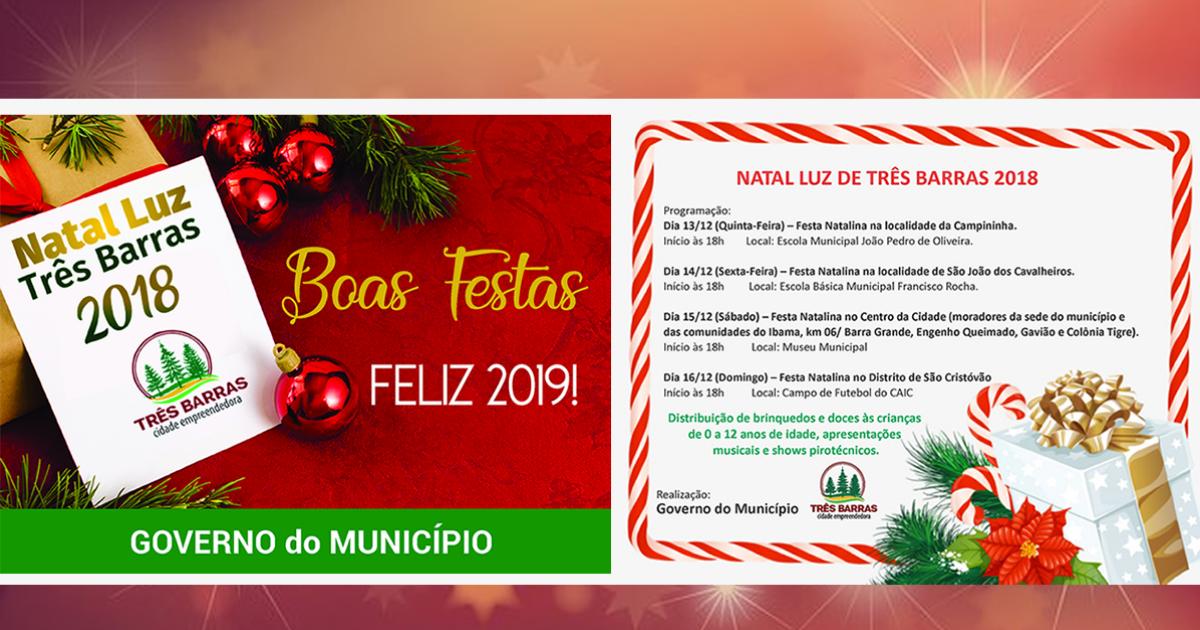 Natal Luz começa na noite desta quinta-feira pela localidade da Campininha