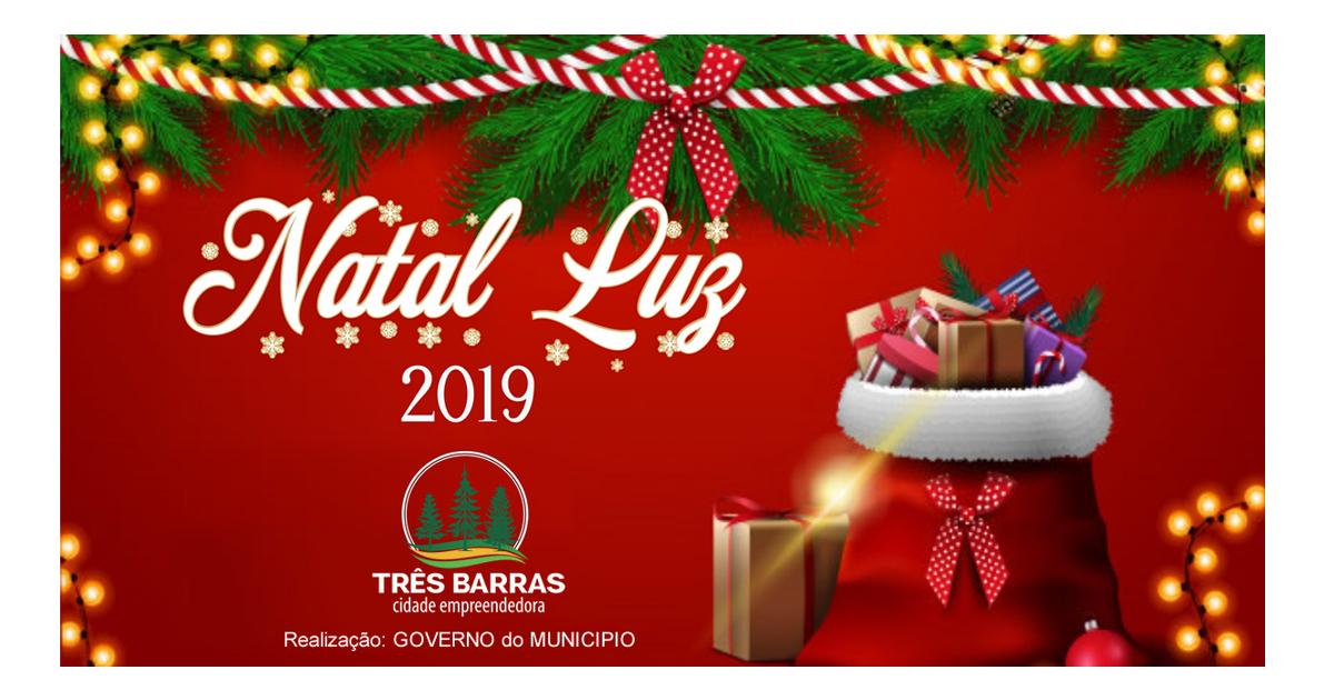 Natal Luz deste ano vai presentear 5,5 mil crianças em Três Barras