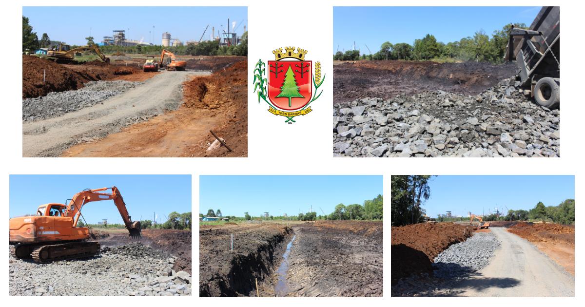 Obras iniciais começam a dar forma ao novo contorno rodoviário em Três Barras