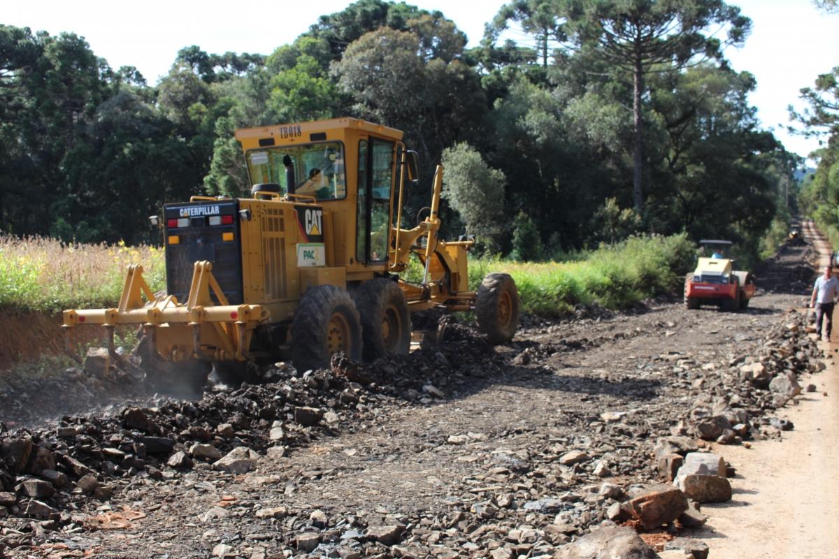 Obras no desvio da Colônia Tigre entram na reta final