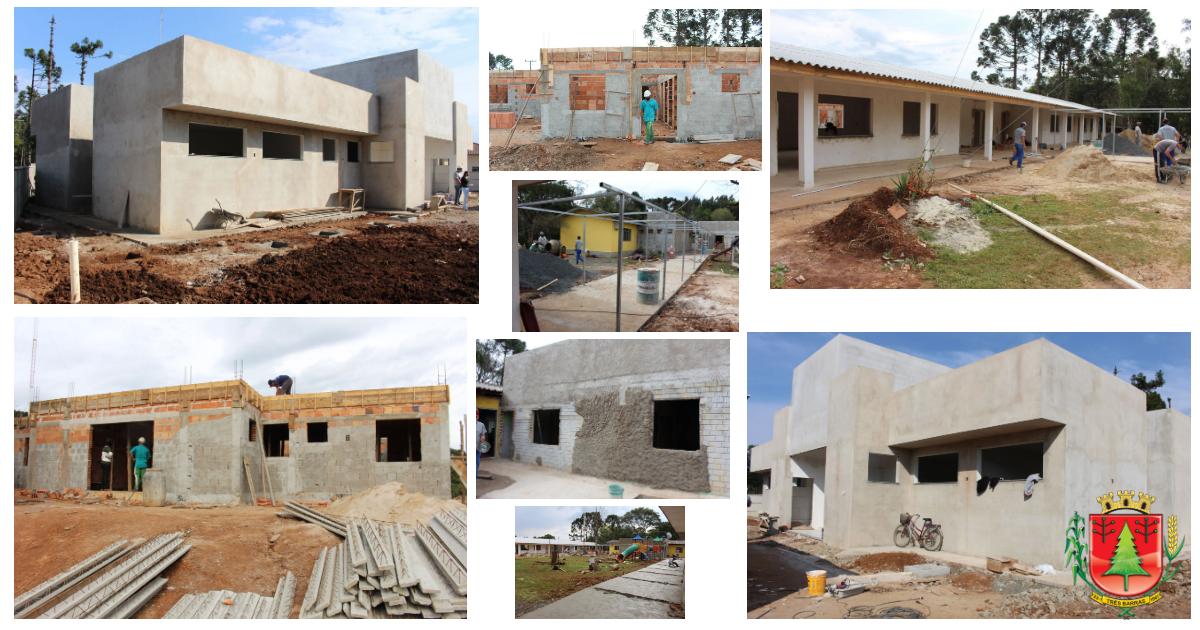 Obras públicas municipais avançam no interior de Três Barras