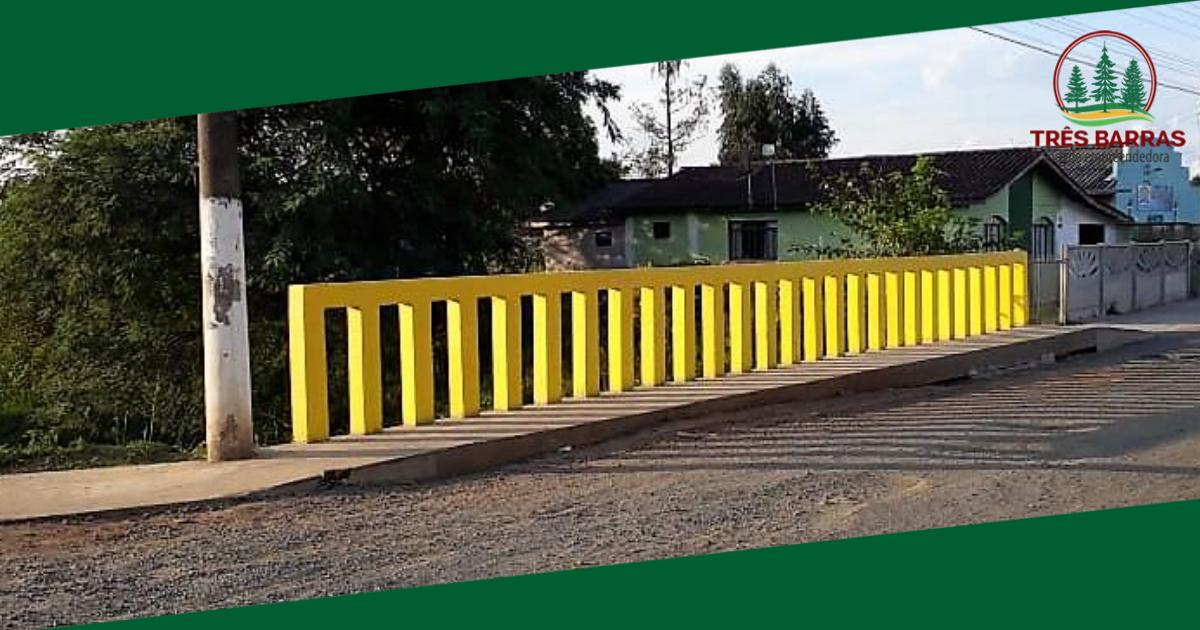 Passarelas trazem mais segurança e mobilidade urbana a duas localidades de Três Barras