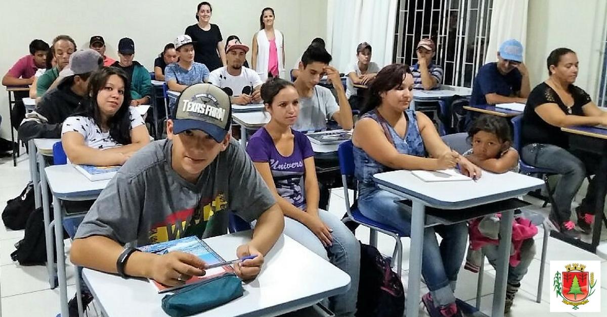 Polo Guita Federmann do Ceja está com 120 estudantes matriculados