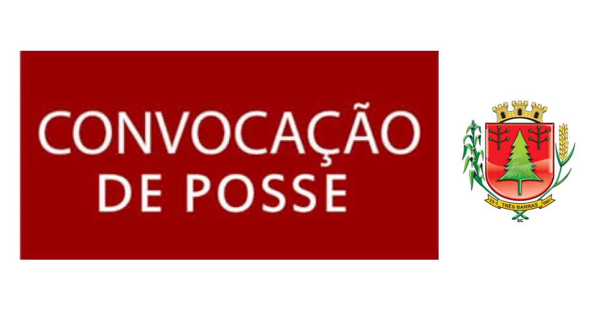 Prefeitura de Três Barras convoca candidatos aprovados em concurso público