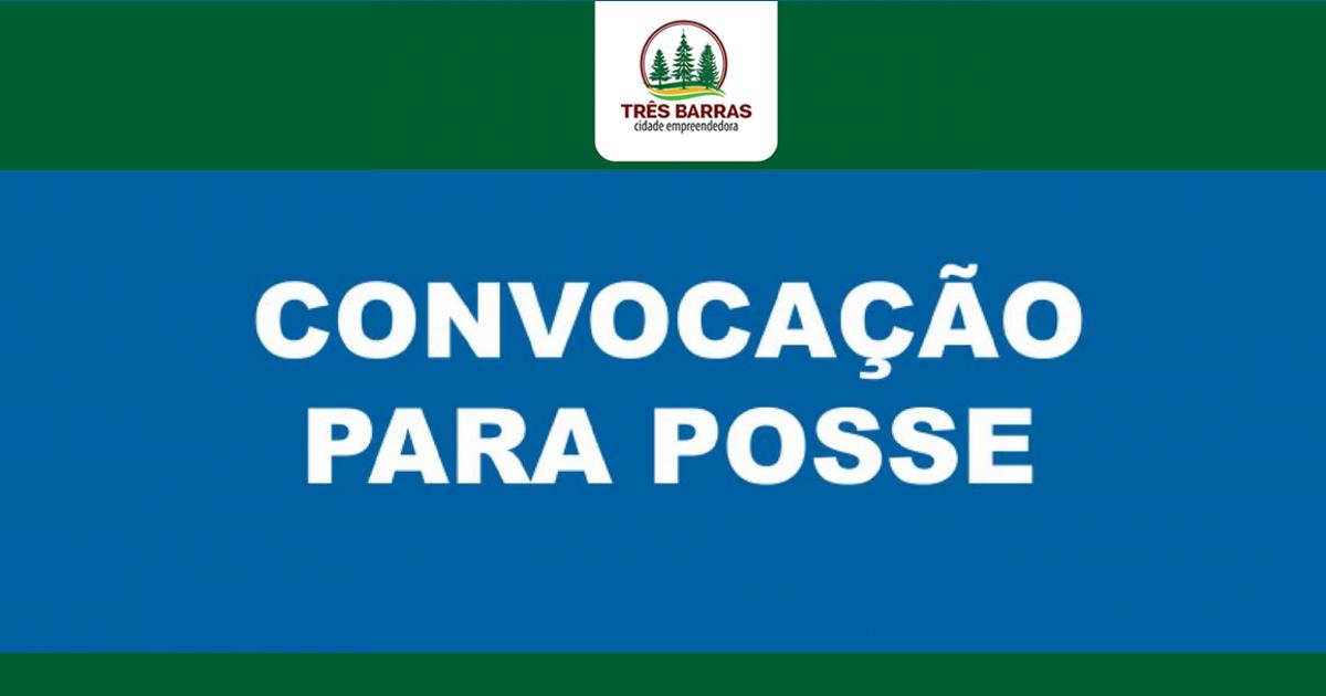 Prefeitura de Três Barras convoca médico psiquiatra aprovado em concurso público