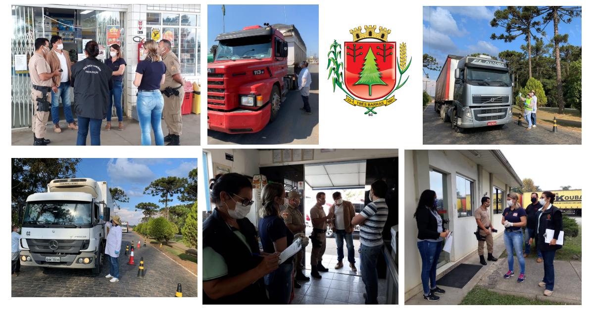 Prefeitura intensifica enfrentamento da Covid-19 com fiscalização do comércio e barreira sanitária