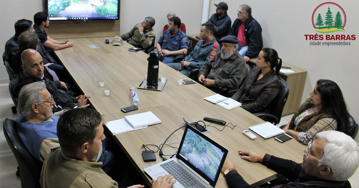 Prevenção: alagamentos motivam a remoção de 20 famílias em Três Barras