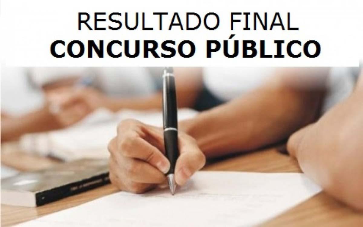 RESULTADO FINAL DO CONCURSO PÚBLICO - EDITAIS N° 001 e 002/2017