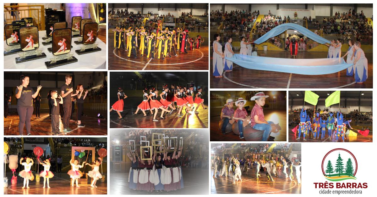 Revelação de talentos e criatividade marcam o 26° Festival de Dança de Três Barras