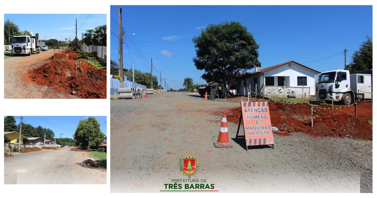 Ruas do bairro João Paulo II são preparadas para receber o asfalto