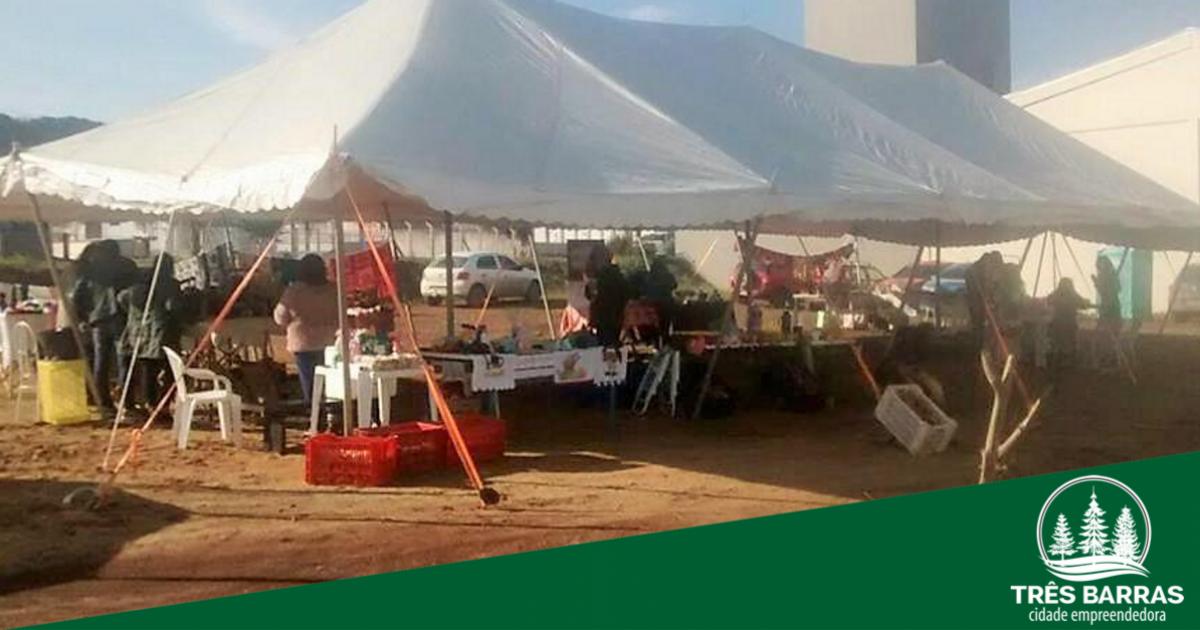 Sábado é dia de Feira Municipal em Três Barras