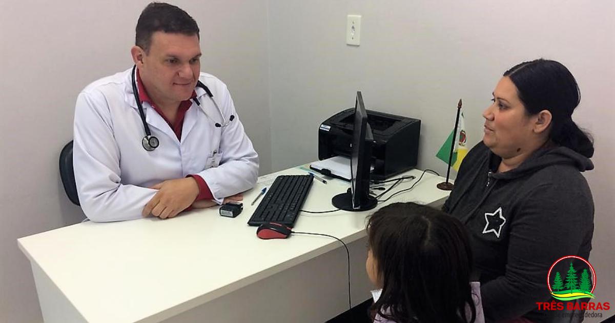 Saúde de Três Barras realiza mais de 3 mil consultas especializadas e 17 mil exames no primeiro trimestre