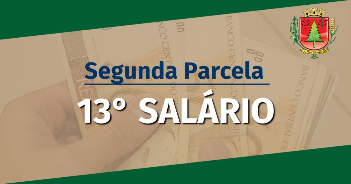 Segunda parcela do 13° salário do funcionalismo foi paga nesta sexta-feira