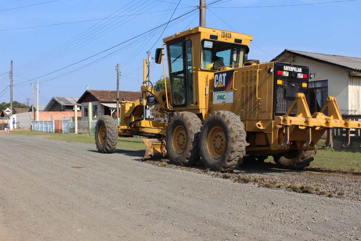 Serviços de infraestrutura urbana chegam ao bairro Argentina