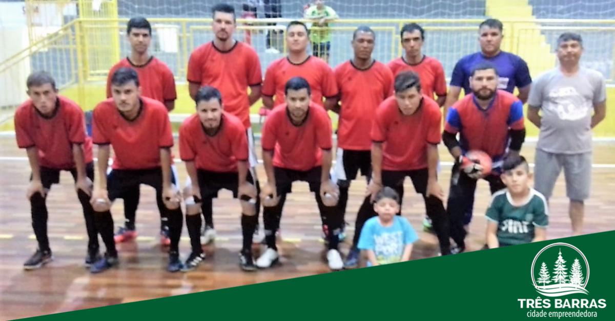 Sexta rodada do Municipal de Futsal teve 45 gols e goleada de 21 a 0