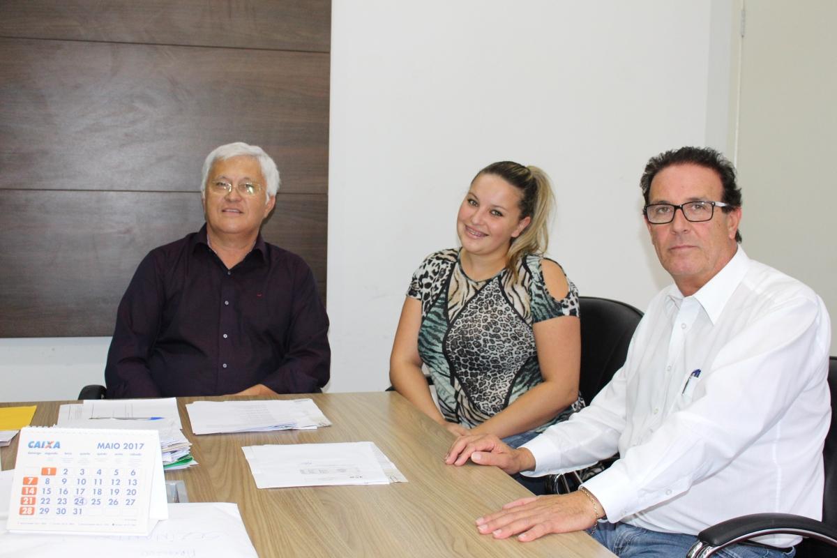 Shimoguiri recebe a visita do ex-prefeito Milton Andrade
