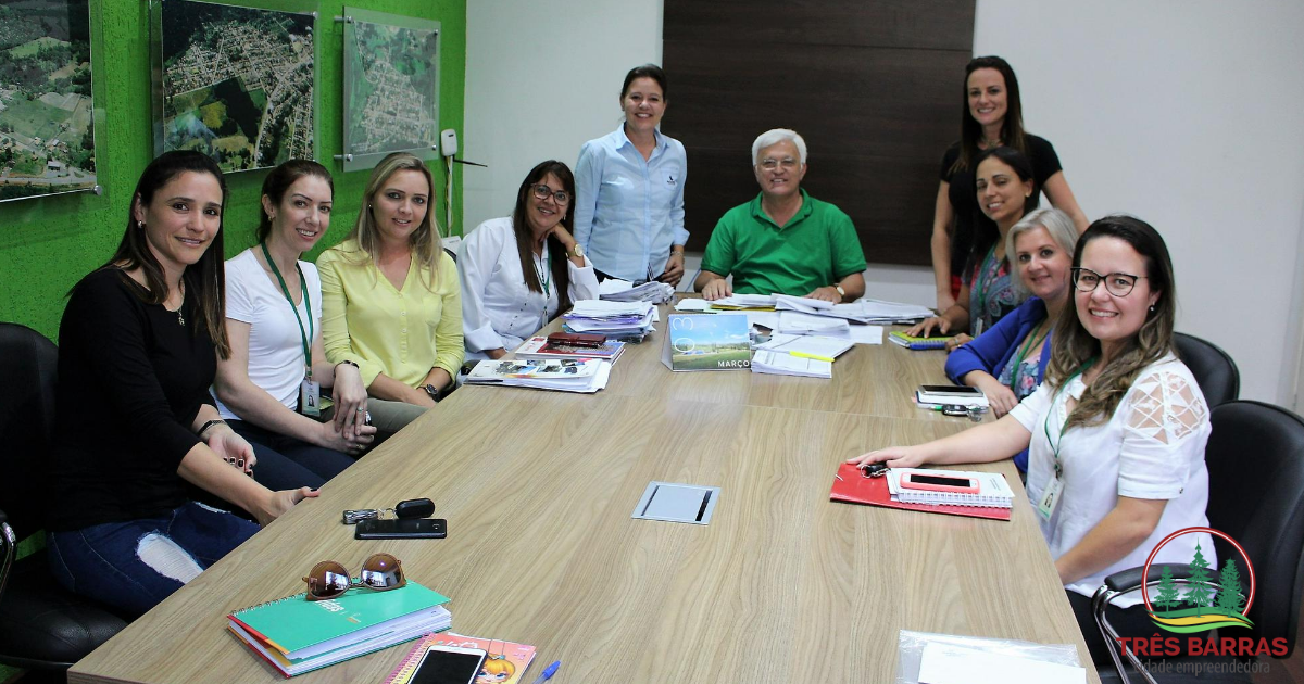 Shimoguiri recebe equipe do NEPSH para debater ações de educação permanente em saúde