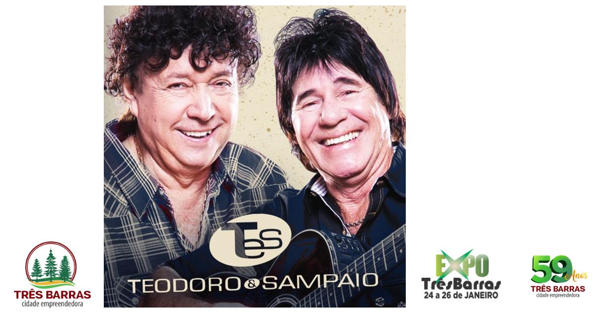 Show de Teodoro e Sampaio é a atração deste sábado na Expo Três Barras