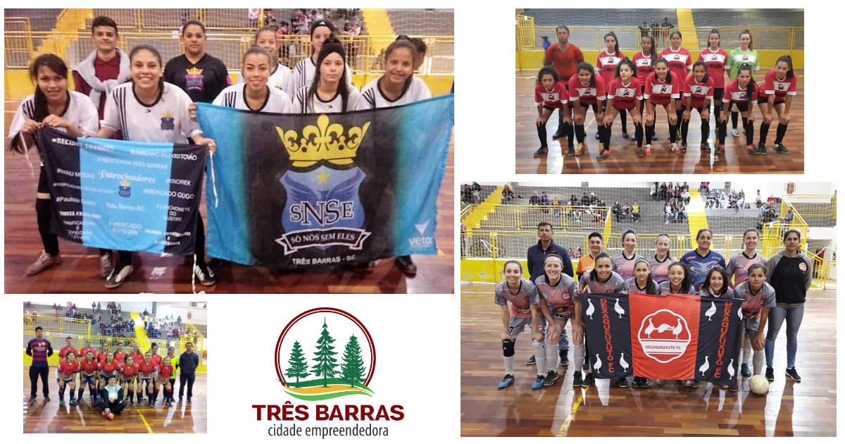Só Nós Sem Eles garante vaga na decisão do Futsal Feminino; Dexaqueuxuto também vence pela sétima rodada da categoria