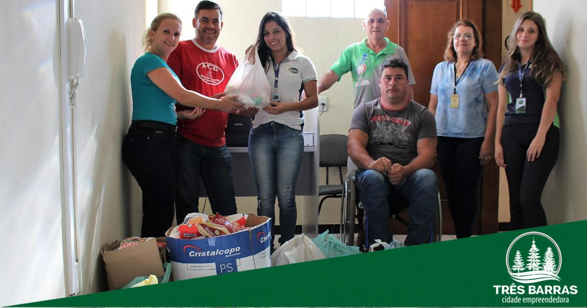 Solidariedade: ação garante 100 quilos de alimentos não perecíveis à ACD