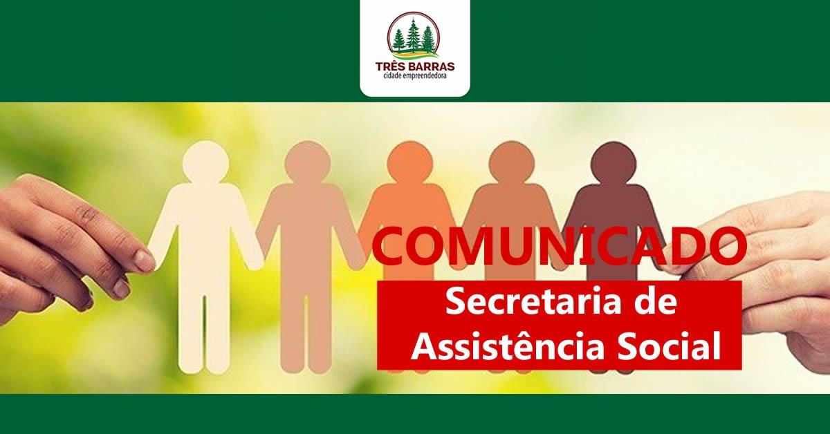 Telefones da secretaria de Assistência Social estão temporariamente indisponíveis