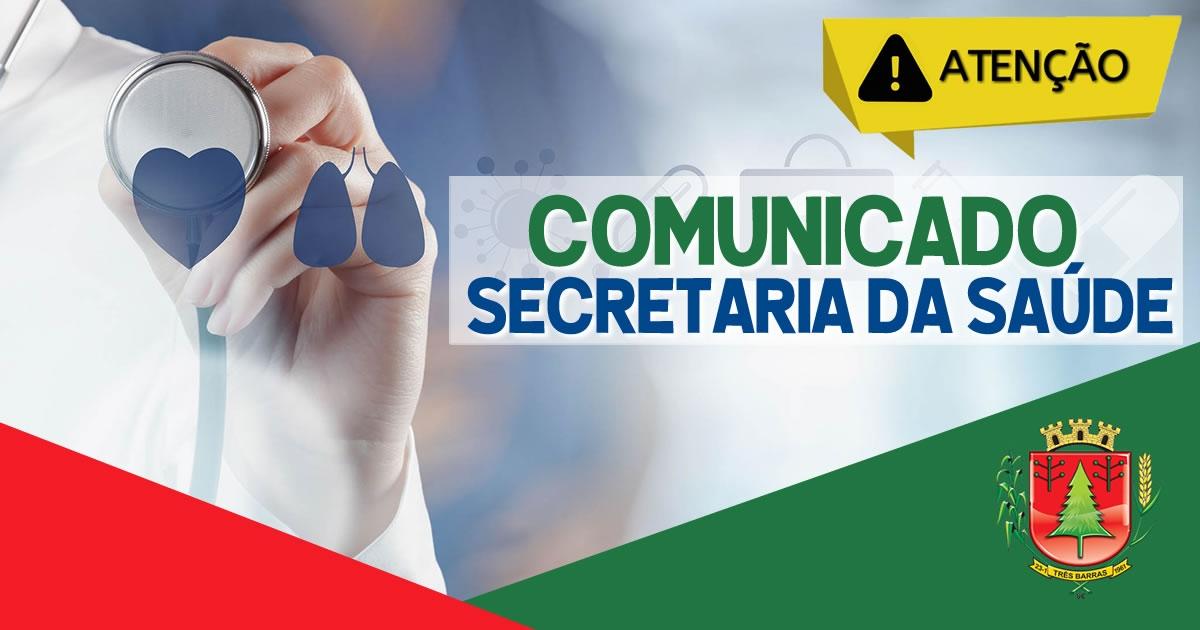 TRÊS BARRAS REALIZA VACINAÇÃO CONTRA COVID-19 NESTA QUARTA-FEIRA