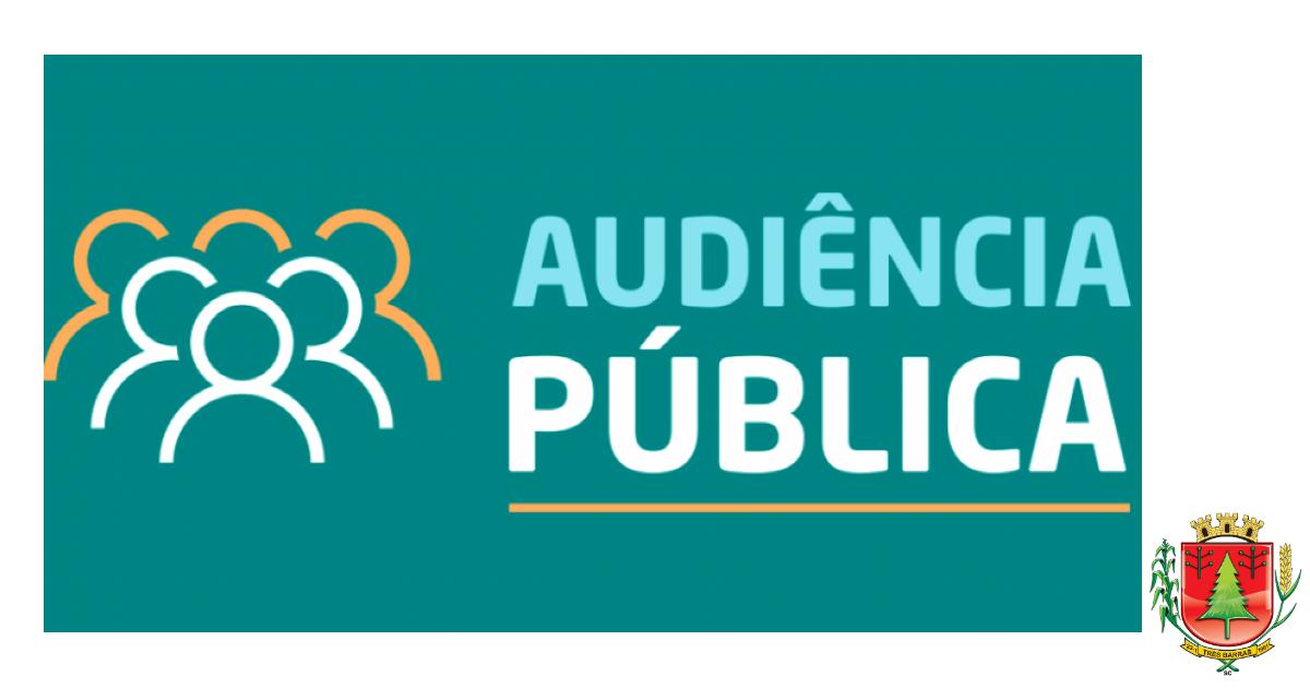 Três Barras discute LDO durante audiência pública online nesta sexta-feira