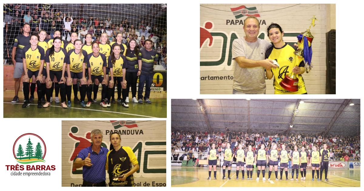 Tróia FC é vice - campeã do Intermunicipal de Futsal em Papanduva